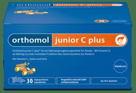 Вітаміни Orthomol Junior C Plus