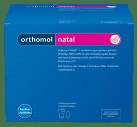 Вітаміни Orthomol Natal