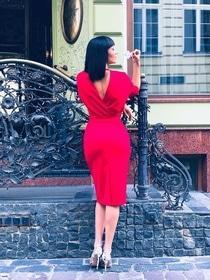 День Св. Валентина - Платье Кимоно 2