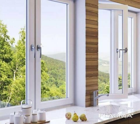 Фото-1 PLAMET, Производство металлопластиковых окон и металлических дверей - Окно металоплатстикове КВЕ Optima