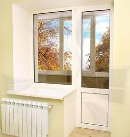 Стройся! - Балконий блок металлопластиковый OpenTeck DeLux
