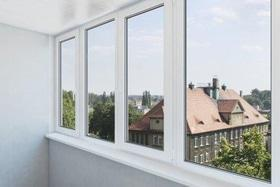 Балкон металлопластиковый