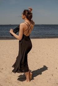 Літо - Сукня Джемма (чорна)