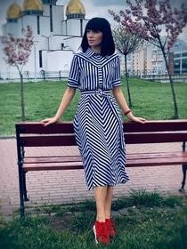 Літо - Сукня Іванна (смужка)