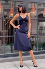 8 марта - Платье Бордо