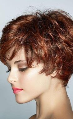 Фрагранс, салон красоты - Брашинг коротких волос