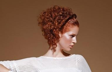 Фрагранс, салон красоты - Химическая завивка коротких волос