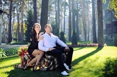 Украина, гостиница - Фотосессия на территории отеля