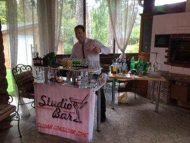 Studio Bar, бармен-шоу - Мобильный бар (выездной бар)