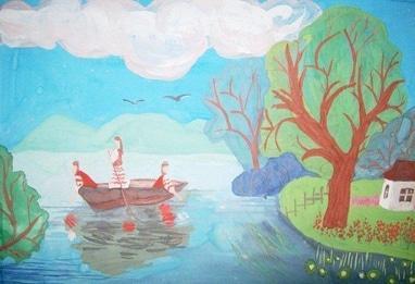 Центр детского и юношеского творчества, внешкольное учебное заведение - Изостудия 'Юный художник'