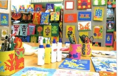Центр детского и юношеского творчества, внешкольное учебное заведение - Кружок 'Вытынанка'