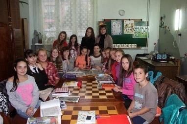 Центр детского и юношеского творчества, внешкольное учебное заведение - Детская городская газета 'Ш.О.К.'