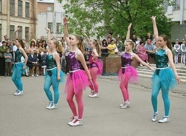 Центр детского и юношеского творчества, внешкольное учебное заведение - Шоу-балет 'Star dance'