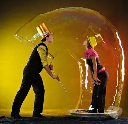 Фото 2 - Рудий Кінь, Event-агентство - Фаер-шоу, шоу мыльных пузырей