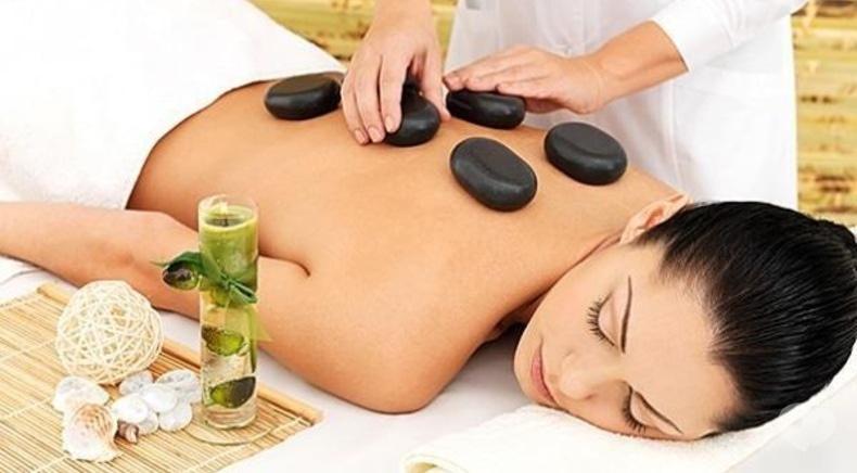 Райский, салон СПА - Классический стоун-массаж всего тела