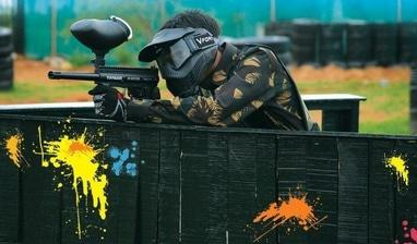 Paintball, пейнтбольный оператор - Игра в пейнтбол. Пакет 'Минимум'