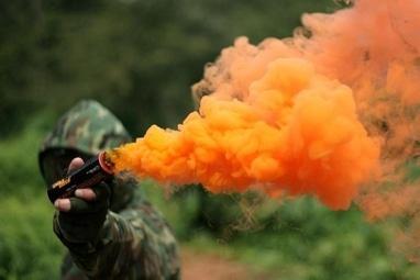 Paintball, пейнтбольный оператор - Дымовая шашка