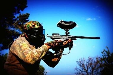 Щедра Долина, база отдыха - Аренда оборудования для игры в пейнтбол (камуфляжная форма, маркер, маска)