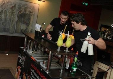 Studio Bar, бармен-шоу - Детское бармен-шоу