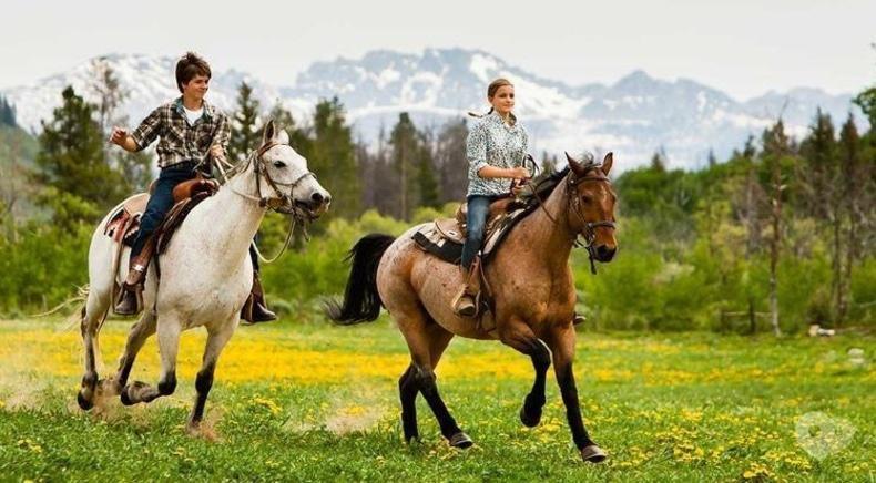 Кентаврик, пони-клуб - Прогулка в лес верхом на лошади, пони