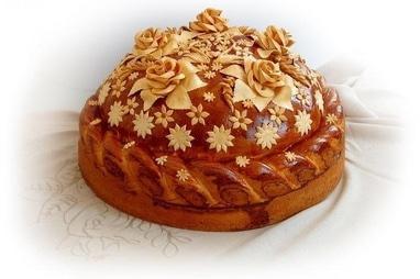 Тарас Бульба, корчма - Запашний весільний каравай та хліб