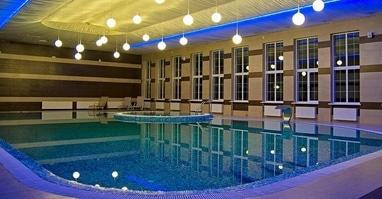 Perlyna resort, Культурно-оздоровительный комплекс - Закрытый бассейн с джакузи, сауной и слеш-баней