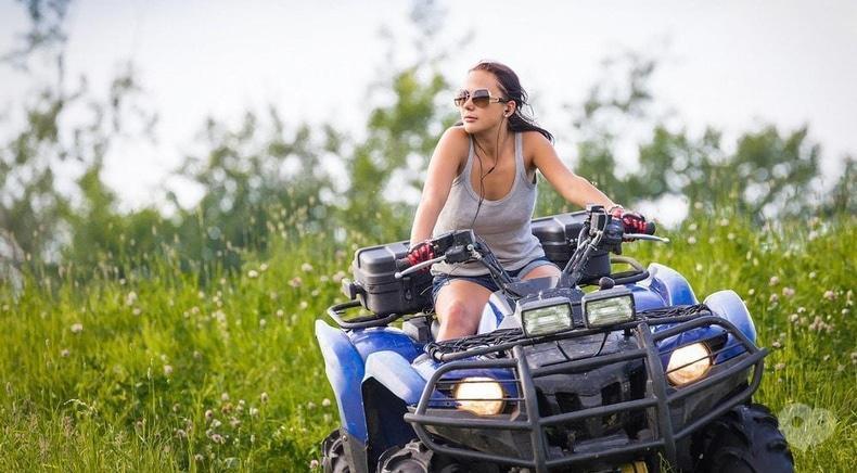 Perlyna resort, Культурно-оздоровительный комплекс - Квадроциклы