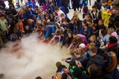 Агентство праздников ИЗУМРУДНЫЙ ГОРОД, организация торжеств - Зимнее Химическое Шоу для детей