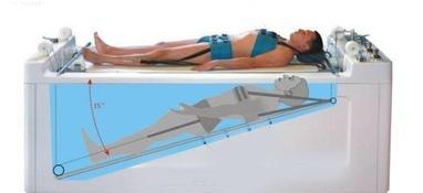 Вільний рух, медичний центр - Підводне витягування хребта, суглобів