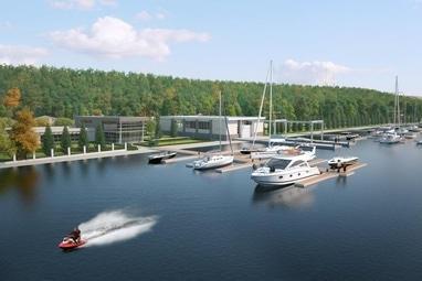 Perlyna resort, Культурно-оздоровительный комплекс - Спуск маломерных судов