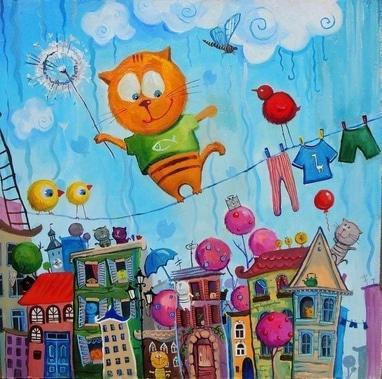 Анна Проненко (Василенко), художник - Детские картины