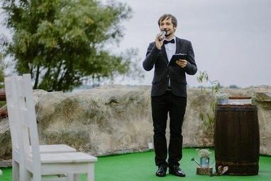 Зборовский Дмитрий, ведущий, конферансье - Выездная регистрация свадьбы