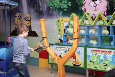 Країна Свят, детский развлекательный центр - Angry Birds