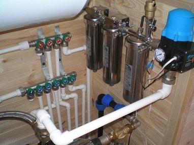 Сантехстиль, ООО, продажа и монтаж сантехники - Монтаж системы фильтрации воды
