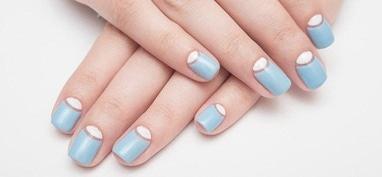 Облака, бюро красоты - Коррекция гелевых ногтей