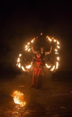 Дыхание Дракона, шоу-проект - Огненно-пиротехническое шоу 'Огненное Танго'
