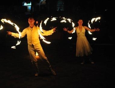 Дыхание Дракона, шоу-проект - Огненно-пиротехническое шоу  'White Romance'