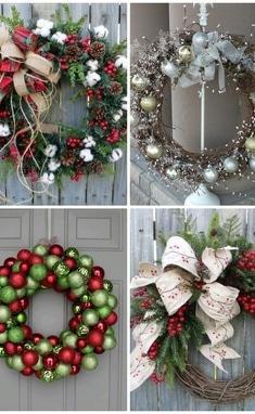 Флоранна, мастерская флористики и декора - Новогодние венки подвесные под заказ