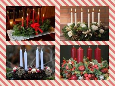 Флоранна, мастерская флористики и декора - Новогодние венки вертикальные под заказ