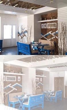 Чайка, ресторанний комплекс - Гастрономічне кафе 'Причал'