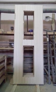 Вагонка, лесо-торговый склад - Изготовление дверей для бань (парной)