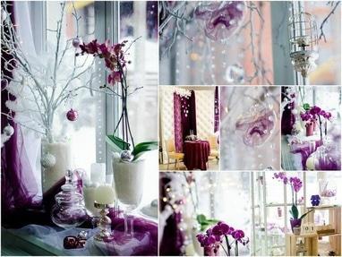 Творческая мастерская Яся - Декор для новогодней фотосессии 'Лиловая'