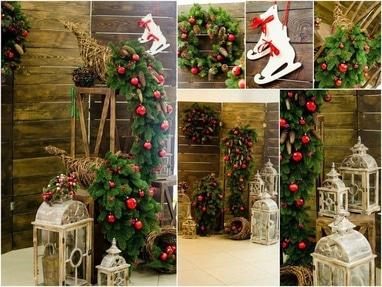 Творческая мастерская Яся - Декор для новогодней фотосессии 'Рождественская'