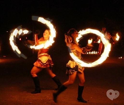 """Фото 7 - Сварожичи, огненное шоу, пиротехническое шоу, великаны на ходулях - Огненно-пиротехническое шоу """"Венецианский карнавал"""" (4 актера)"""
