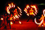 Сварожичи, огненное шоу, пиротехническое шоу, великаны на ходулях - Романтическое фаер-шоу 'Двое'
