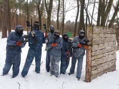 Paintball, пейнтбольный оператор - Игра в пейнтбол. Пакет 'РЕБОЛ-Центр'