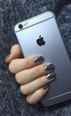 Irisk professional, бутик - Зеркальные ногти