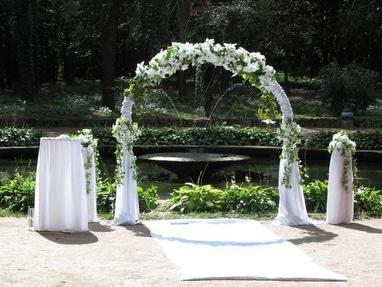 Эдем, агентство организации праздников - Выездные брачные церемонии