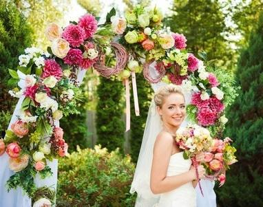 Эдем, агентство организации праздников - Свадебная флористика
