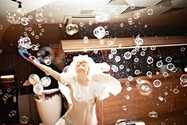 Эдем, агентство организации праздников - Шоу мыльных пузырей